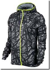 Nike Impossibly Light running jacket with fitted hood