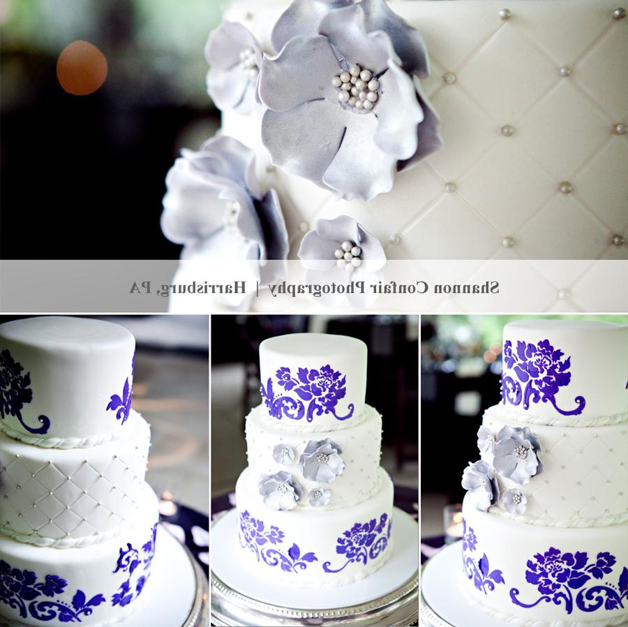 Nailya\'s blog: 3 tier Wedding cake & cupcakes