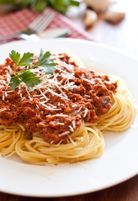 spaghetti with meat sauce4