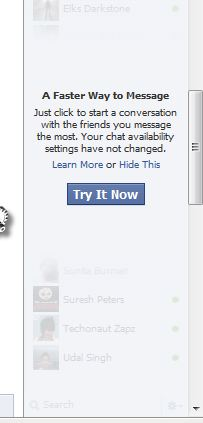 Hate Facebook Chat Update- Th useless sidebar