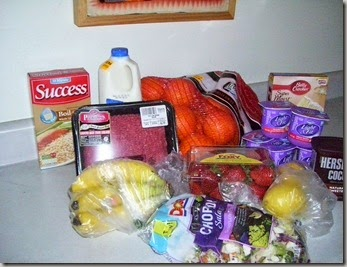 $29 groceries