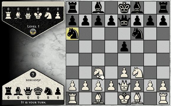 Jogue xadrez online com o Simply Chess