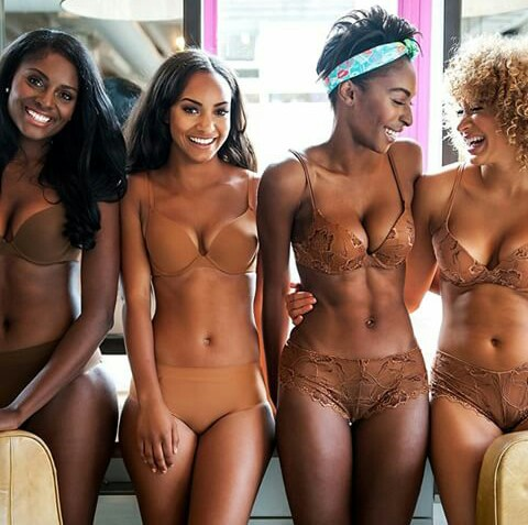 Lingerie by Ade Hassan for Nubian skin