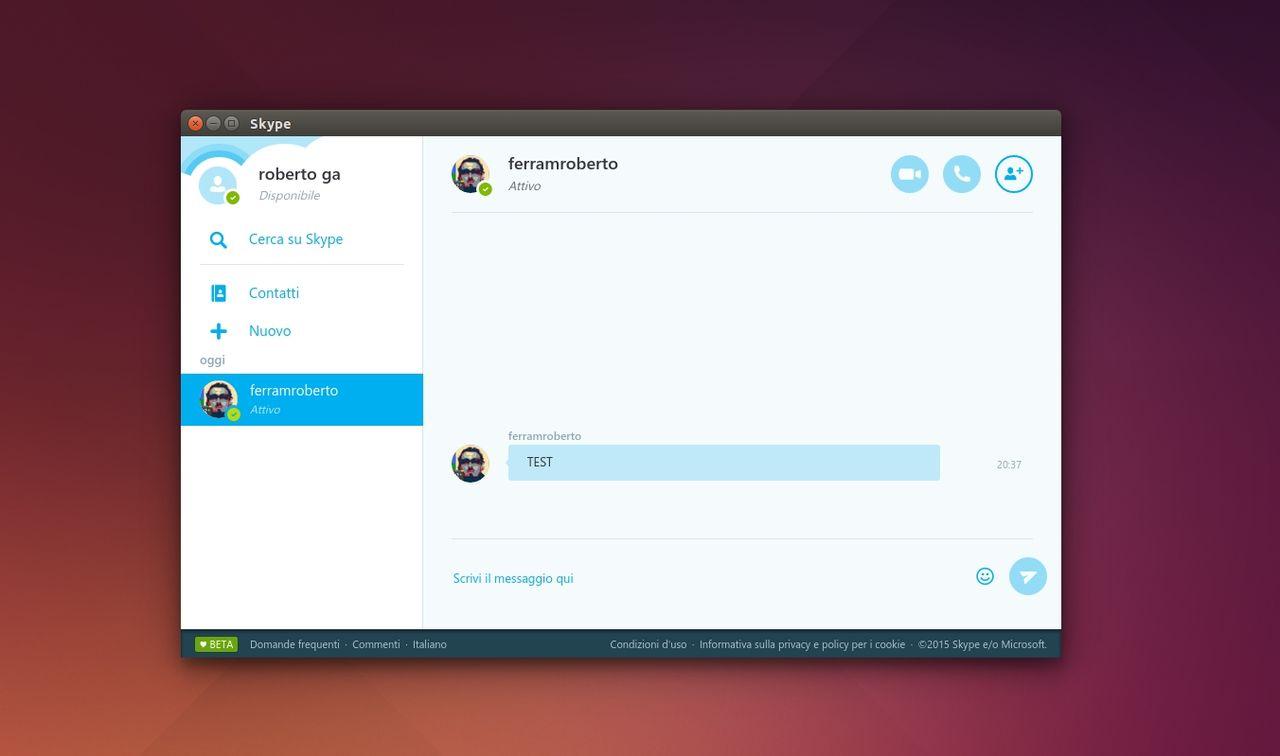 Skype Unofficial Client in Ubuntu