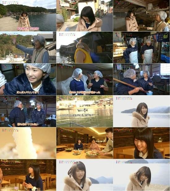 (TV-Variety)(720p) 横山由依 – がはんなり巡る 京都いろどり日記 ep18 141217