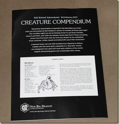 Creature Compendium (3)