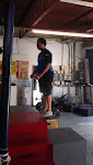 Welcome to box jumps, Corey!