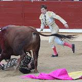 Juan Leal au secours de son péon en difficulté