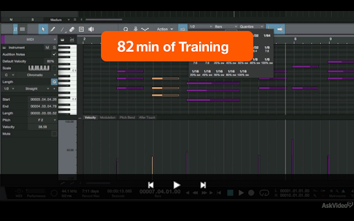 MIDI Course For Studio One 3 - screenshot