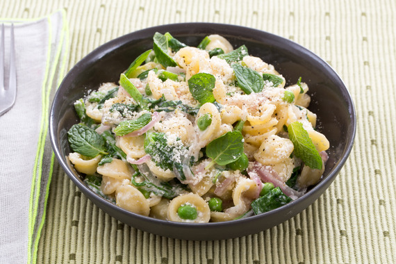 Paccheri And Cheese With Peas And Mint Recipes — Dishmaps