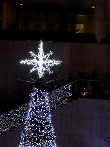 東京オペラシティのクリスマスイルミネーション2014