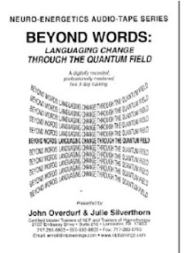 Cover of Johm Overdurf's Book Beyond Words Languaging Change Thrugh The Quantum Field