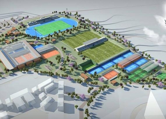 El futuro parque urbano de Valdebebas podría completarse con un club deportivo
