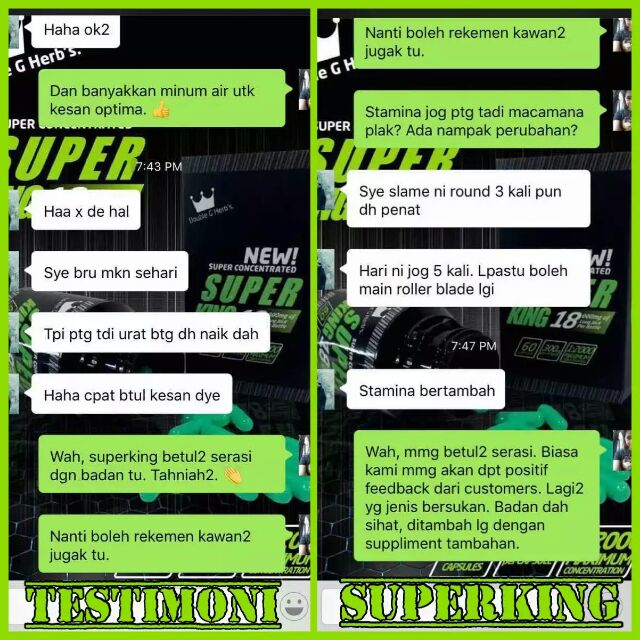 mazim outlet testimoni terbaru super king