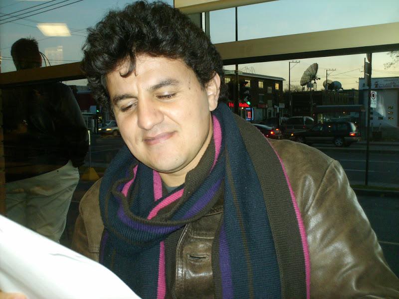 Canada l crivain kabyle karim akouche honor montr al for Salon kabyle