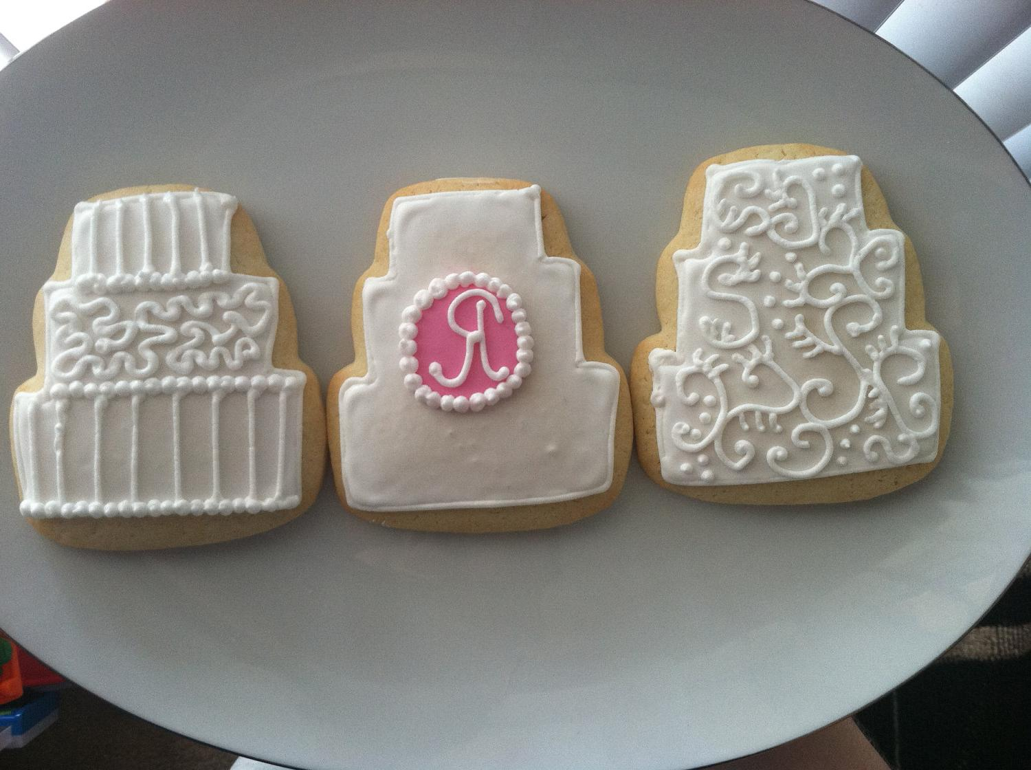 Wedding Cake Sugar Cookie