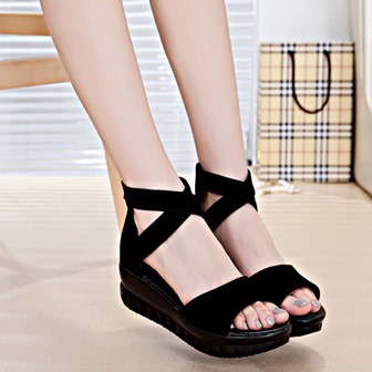 Sandal Bludru Wanita Bertali   Aneka Model Sepatu Terbaru