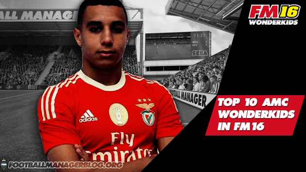 Top 10 Attacking Midfield Centre Wonderkids in FM16