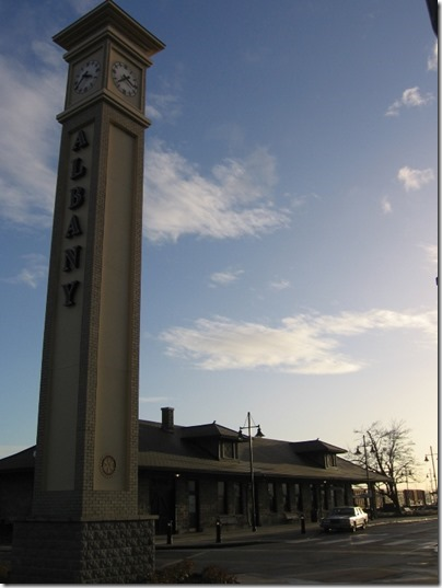 IMG_9512 Clock Tower at Depot in Albany, Oregon on December 4, 2007