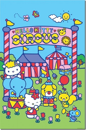 hello kitty circo blogcolorear (2)