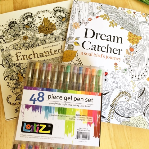 I Have The Secret Garden Coloring Book And Dream Catcher Both Such Intricate Pages That Can Take Hours Or Days If Youre Like Me Short