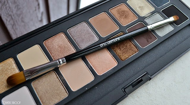 shu uemura 16 shades of nude eyeshadow palette swatches review (16)