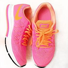 Pink Nike trainers,  nike