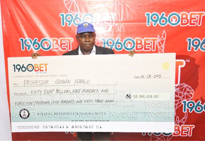 This Is Huge, Biggest Payout In Sports Betting History In NigeriaRecorded At 1960Bet