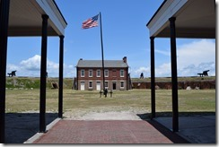 Fort Clinch flag 2