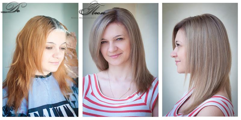 Как перекрасить волосы с черного в блондинку
