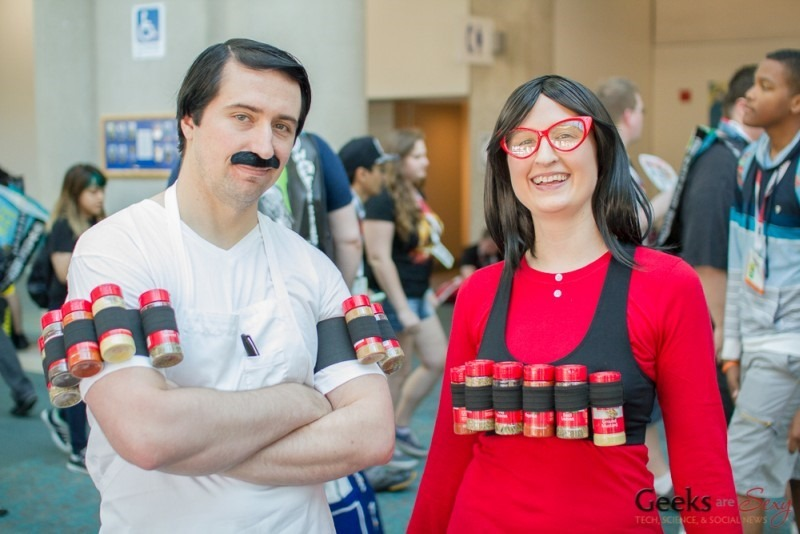 Bob and Linda Belcher from Bob's Burgers Spice Racks at SDCC 2015 via Geeks are Sexy