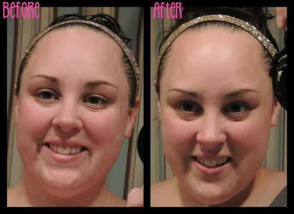 Before & After Nu Skin Face Lift with Activator