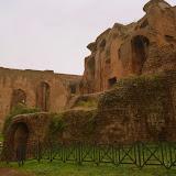 Ruins at Palatine Hill - Rome, Italy