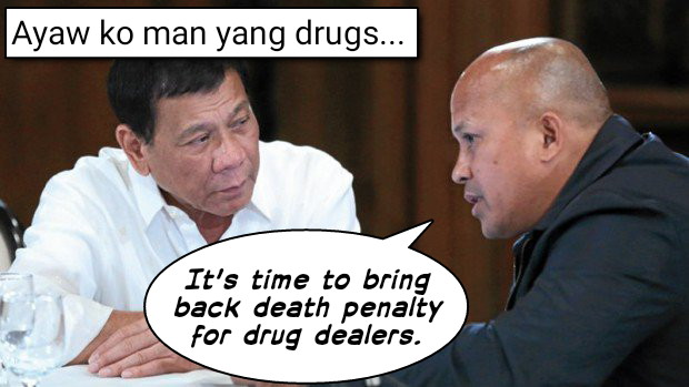 Image of Death Penalty for Drug Dealers, Philippine National Police (PNP) Chief Director General Ronald Dela Rosa, Bring Back Death Penalty in Philippines, Barangay Manresa, Chairman Cierero Ada, Department of Interior and Local Government (DILG), bringing back the death penalty