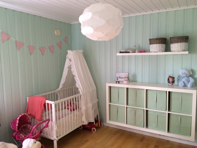 Madeleines hjem: barnerom