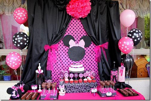 fiesta cumpleaños minnie decoracion (4)