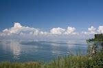 Am Ufer des Stausees Ob / На берегу Обского водохранилища