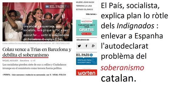 El País explica plan l'eleccion de Barcelona