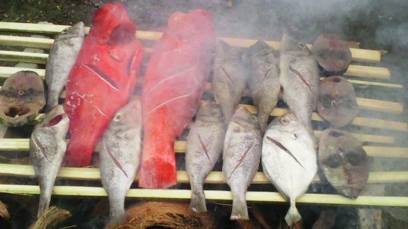 ikan bakar segar panggalo salabose