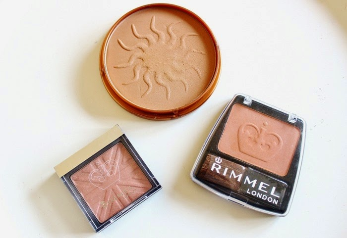 rimmel london lasting finish soft blush pink rose rimmel london natural bronzer