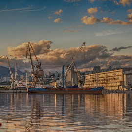 view of the city by Eseker RI - City,  Street & Park  Vistas
