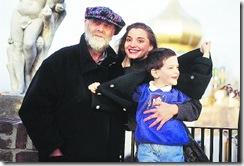 Friedensreich Hundertwasser en familie