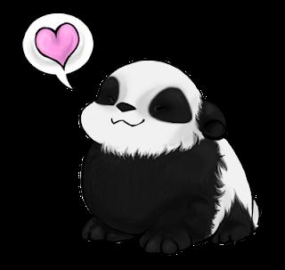 imagenes de amor panda}