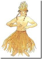 bailarin isla pascua
