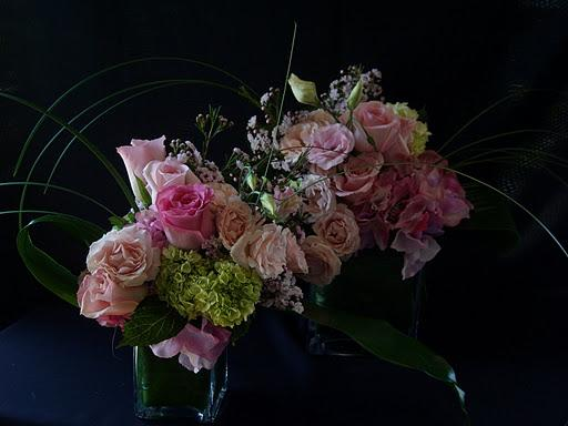 affordable bridal-show flowers