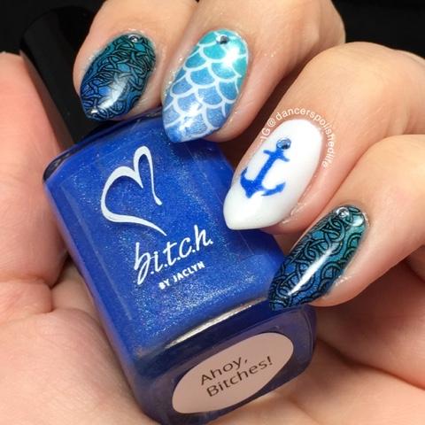 cerulean-blue-linear-holo-nail-polish