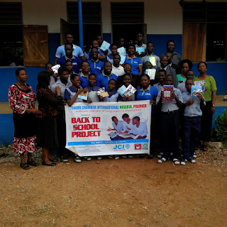 Teachers and deserving students of methodist high school