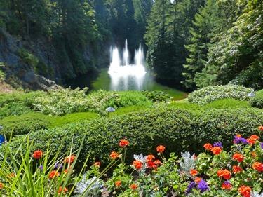 Ross Fountain, Butchart Gardens