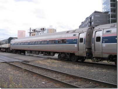 IMG_8623 Amtrak Amfleet I Coach #82570 at Union Station in Portland, Oregon on August 19, 2007