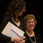 """127: Cristina Sanchez Rivas con Dª Rosa Gil Bosque, que ha sido homenajeada en esta edición, en su 85 Aniversario, y hoy hará entrega del """"Premio Rosa Gil"""" a uno de los ganadores del Concurso Internacional de Guitarra Alhambra para Jóvenes."""